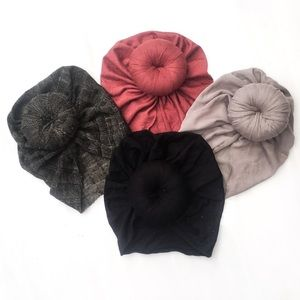Other - VELVET Doughnut Turbans